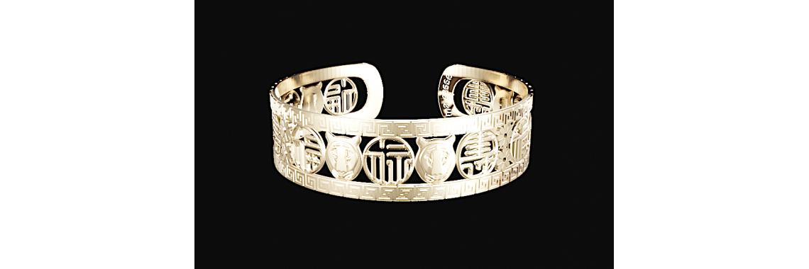 Bracelet Blessings-Prosperity-Longevity