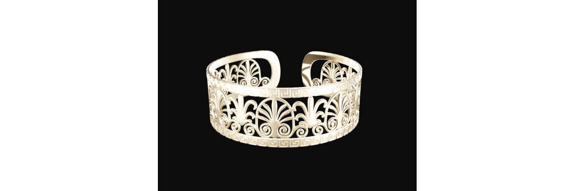 Bracelet Greek Motifs