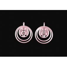 Earrings of Double Happiness
