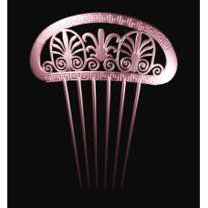 Hairpin Comb with Greek Motifs