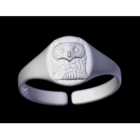Owl Ring Oval
