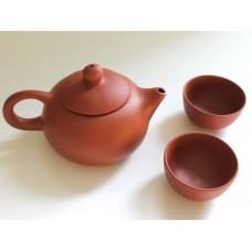 Gongfu Teapot Set - Clay
