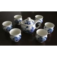 Double Wall Porcelain Tea Set