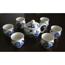 Double Wall Porcelain Tea Set